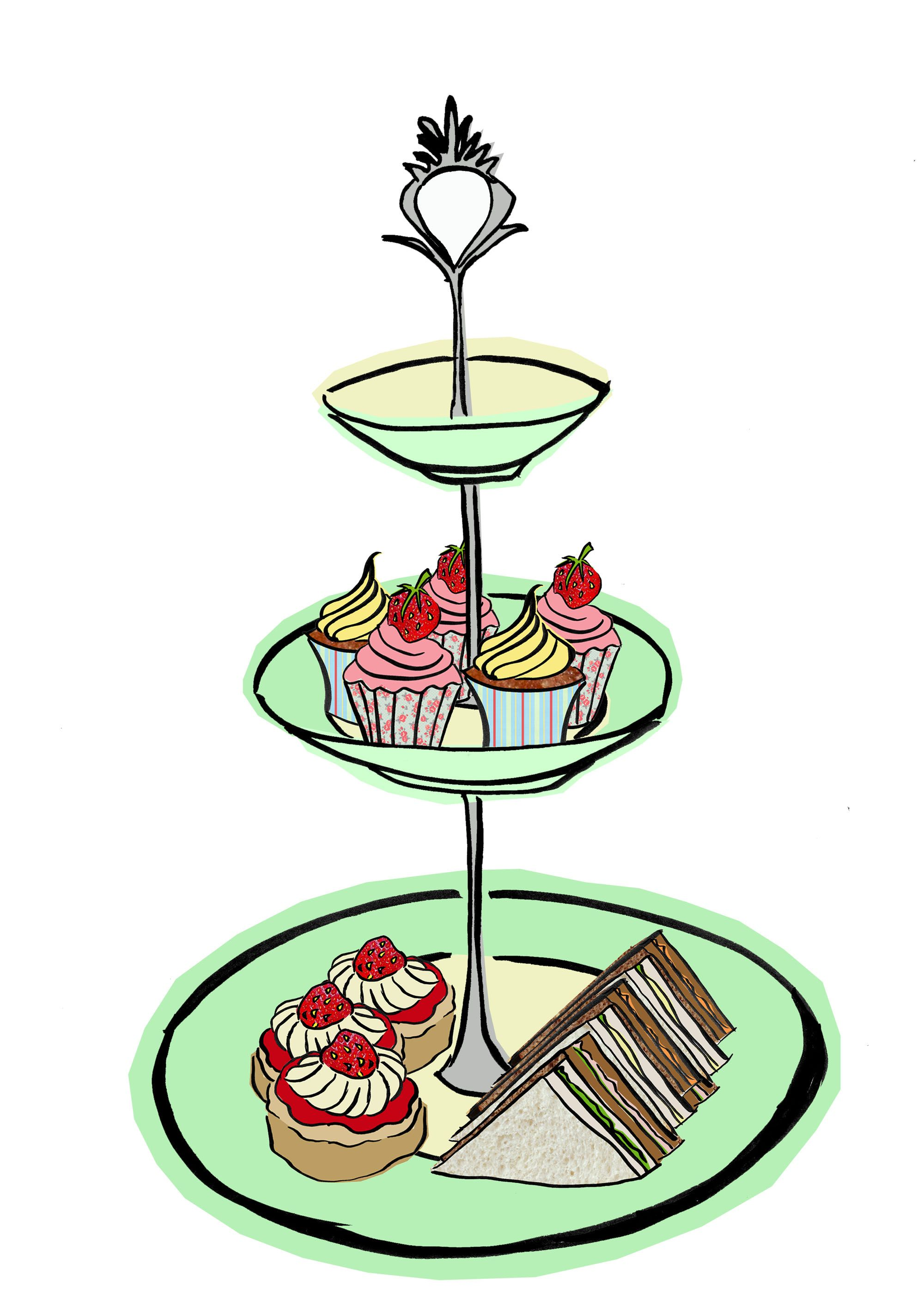 Image result for afternoon tea clipart