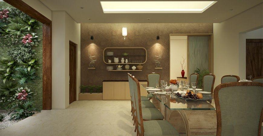 Kerala Dining Room Interior Design In 2020 Interior Design