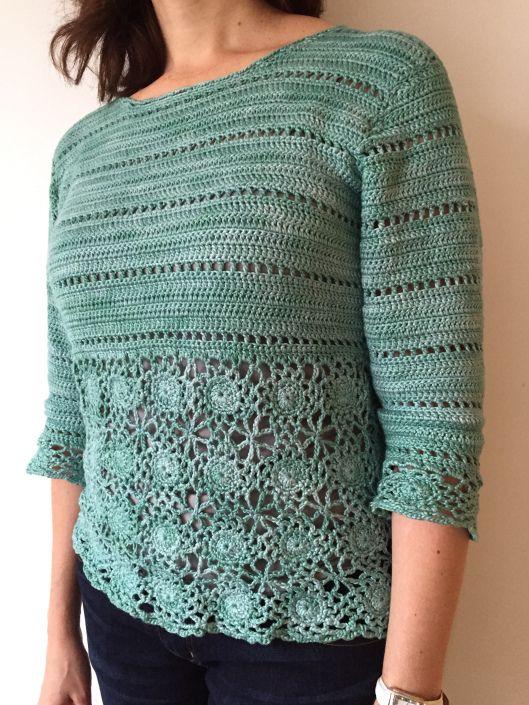 Suelta la parte superior del diseño de ganchillo   Crochet: ropa ...