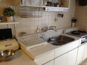 賃貸 団地のキッチンをプチdiyでナチュラルな暮らし キッチン Diy