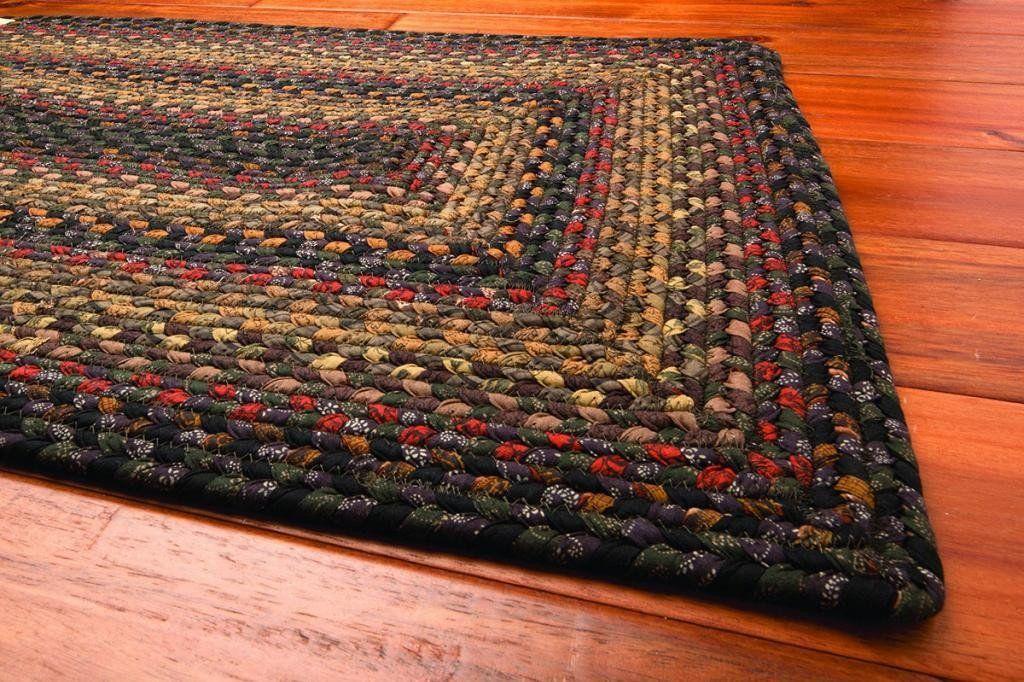 Enigma rectangle rug 26 x 6 braided rug diy braided
