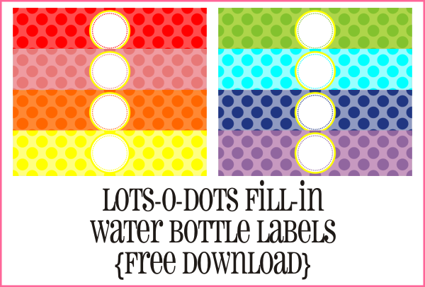 Water Bottle Labels On Pinterest Baby Shower Purple