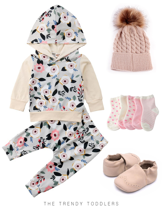 1741f5bf46d15 Cream Floral Set | Babies | Baby clothes shops, Kids clothes sale ...