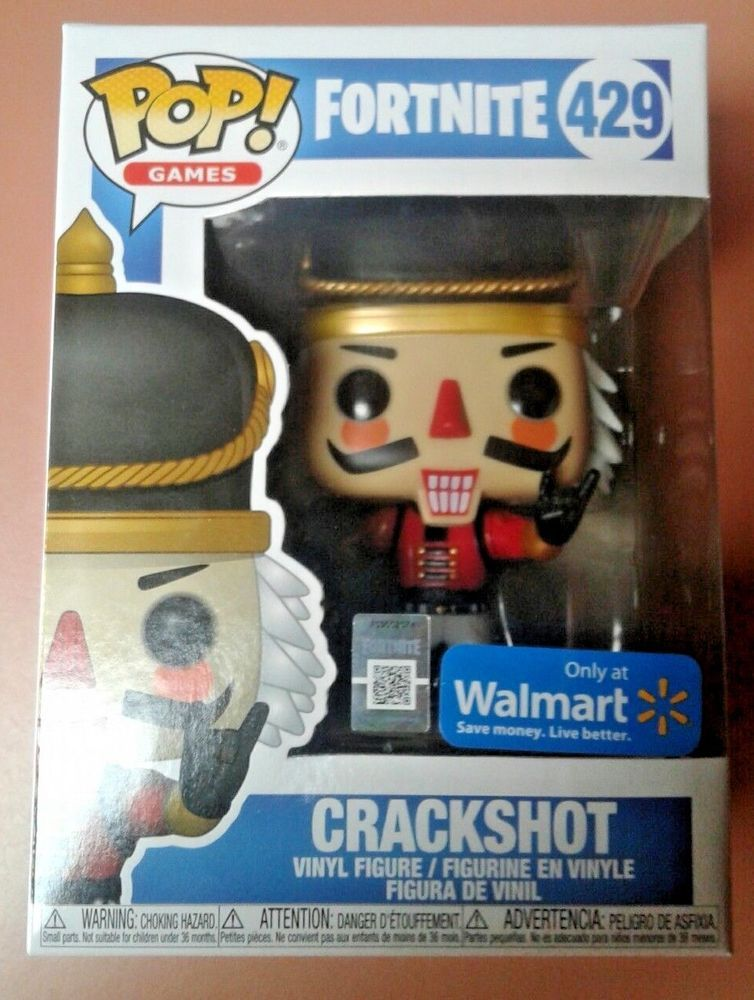 Funko Crackshot Fortnite Walmart Fortnite Launch Walmart