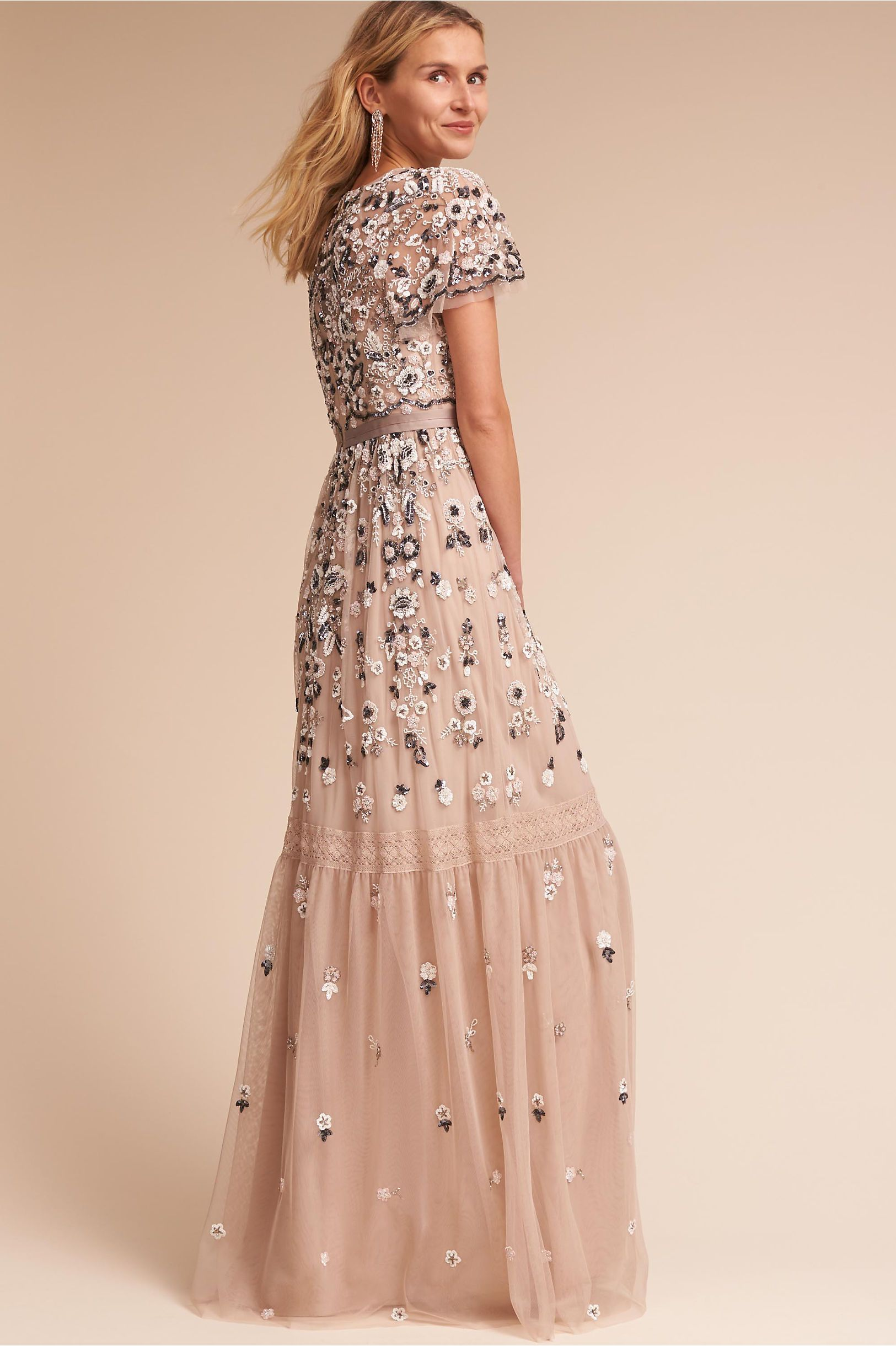 BHLDN\'s Needle & Thread Everley Gown in Champagne   Champagne, Gowns ...