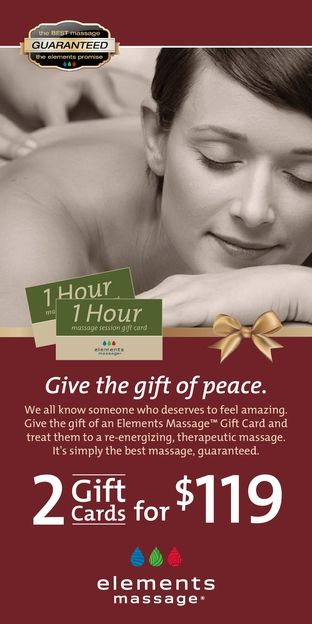Elements Massage -San Antonio Rewards