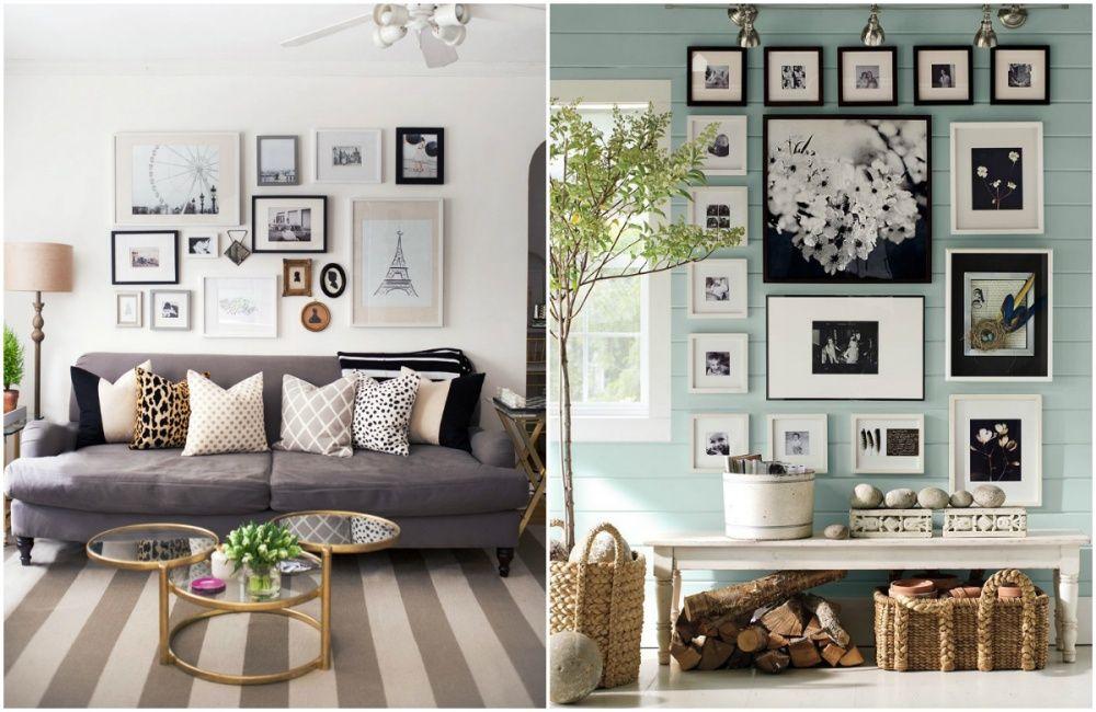 55 идей по размещению семейных фотографий Дизайн