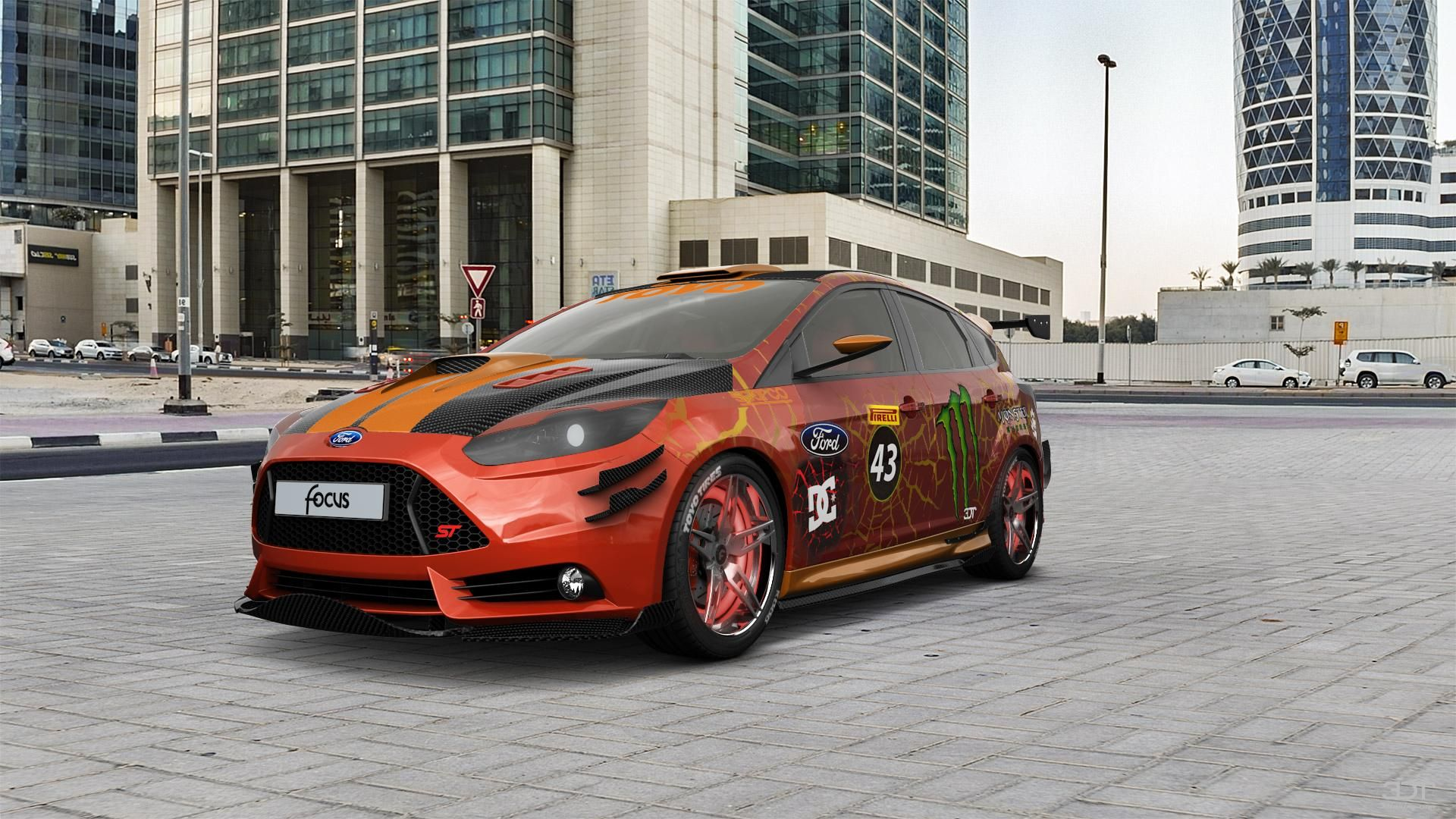Checkout My Tuning Ford Focus 2011 At 3dtuning 3dtuning Tuning