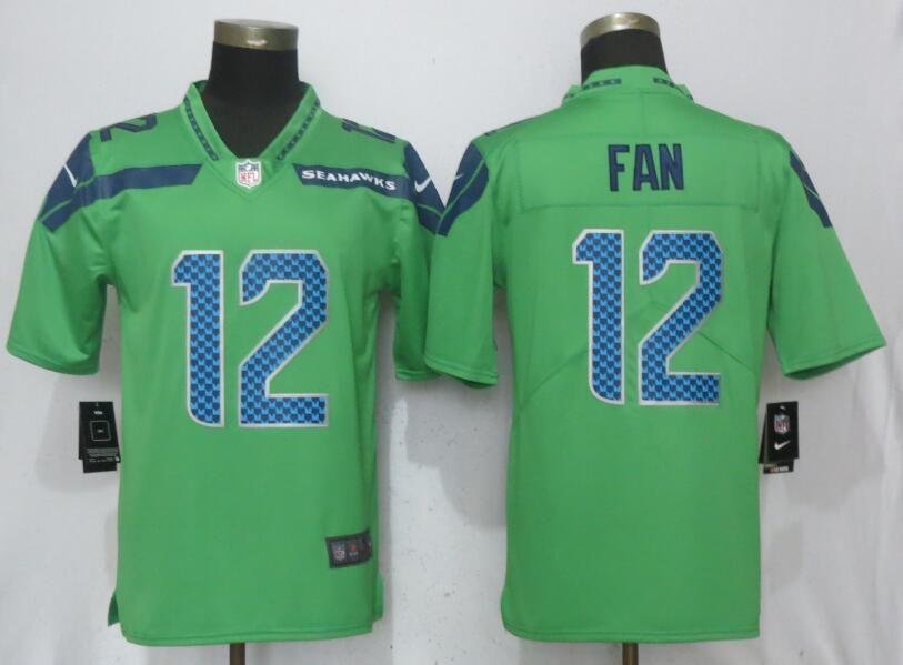 Men Seattle Seahawks 12 Fan Green Nike Vapor Untouchable Limited Nfl Jerseys Seattle Seahawks Nfl Jerseys Seahawks