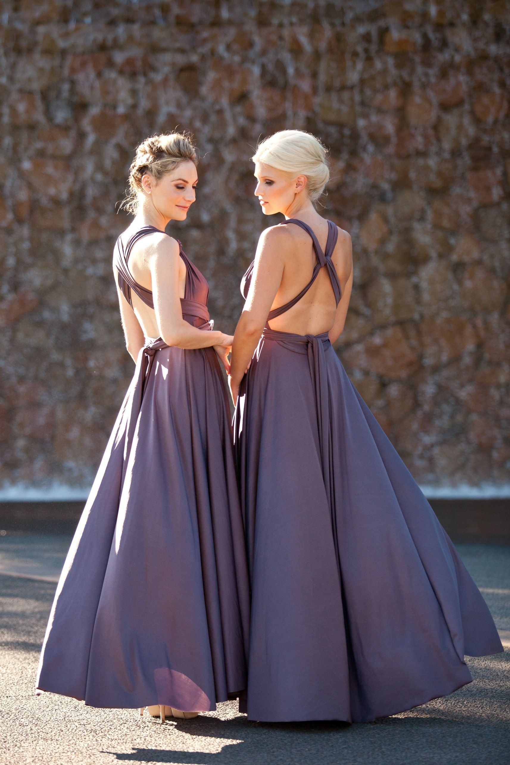 Our Signature Multiway dresses are loved by bridesmaids because they ...