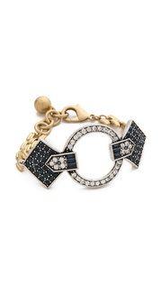Alexis Bittar Pavo Large Moonlight Cuff Bracelet | SHOPBOP