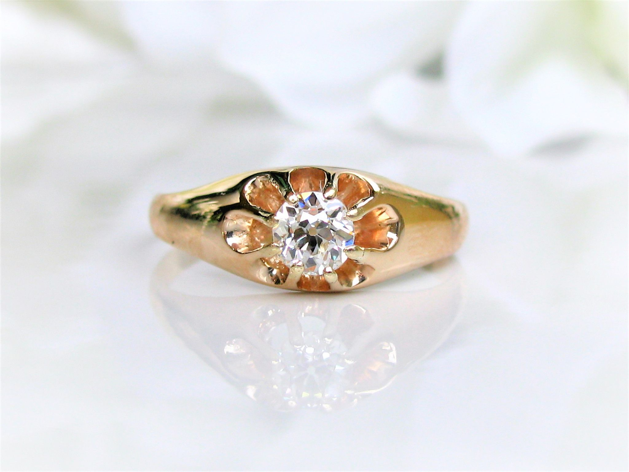 unique luxury of victoria gold engagement wedding vintage rings yellow size sterling ring band