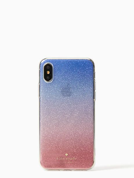 2cdcee7dcb14 Kate Spade Sunset Glitter Ombre Iphone X Case, Pink | Products ...