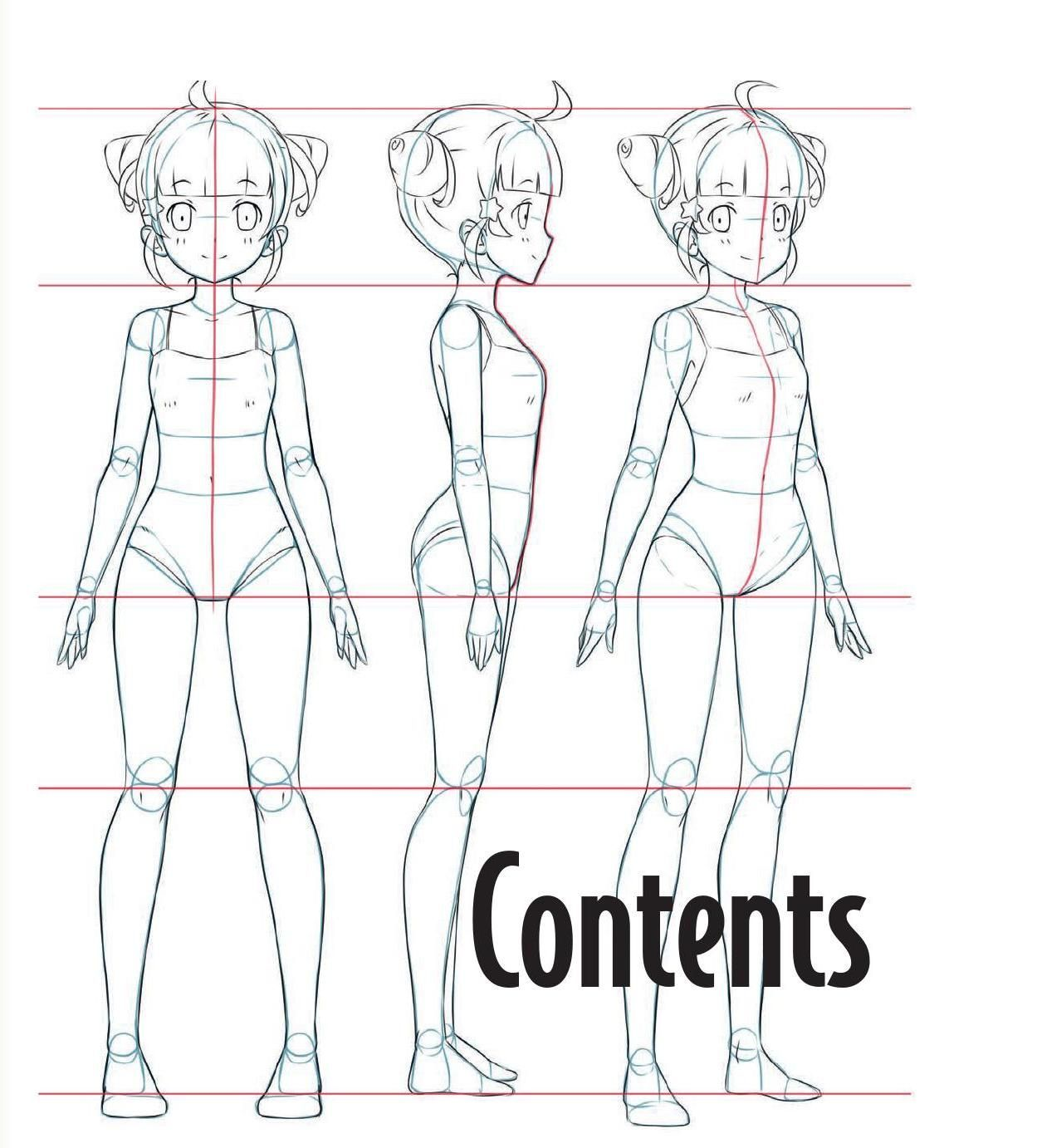 Clippedonissuu From The Master Guide To Drawing Anime How To Draw Original Characters From Simple Tem Anime Drawing Books Drawing Anime Bodies Anime Drawings
