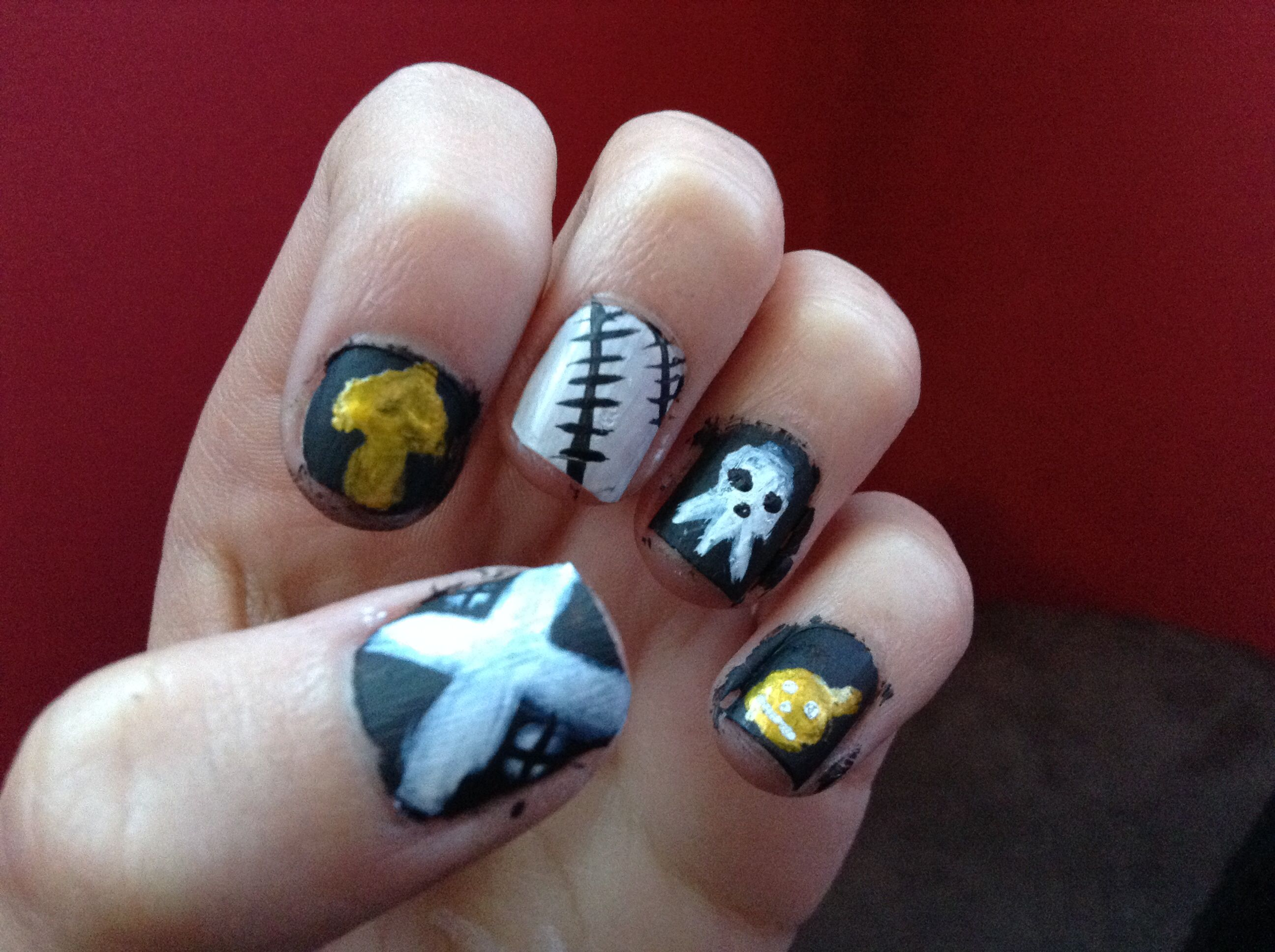 Soul Eater Nails