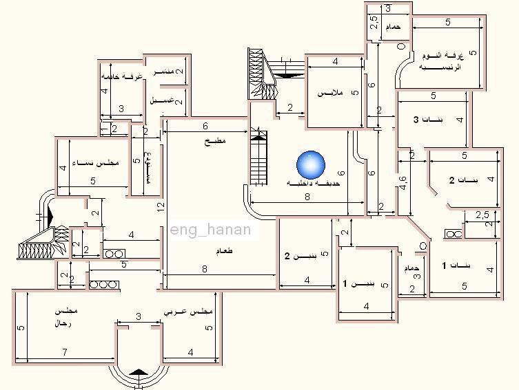 تصاميم عمارات سكنية مخططات شقق سكن رسومات منازل هندسية خرائط فلل دورين خريطة هندسية منتديات ستوب House Plans House Design Floor Plans
