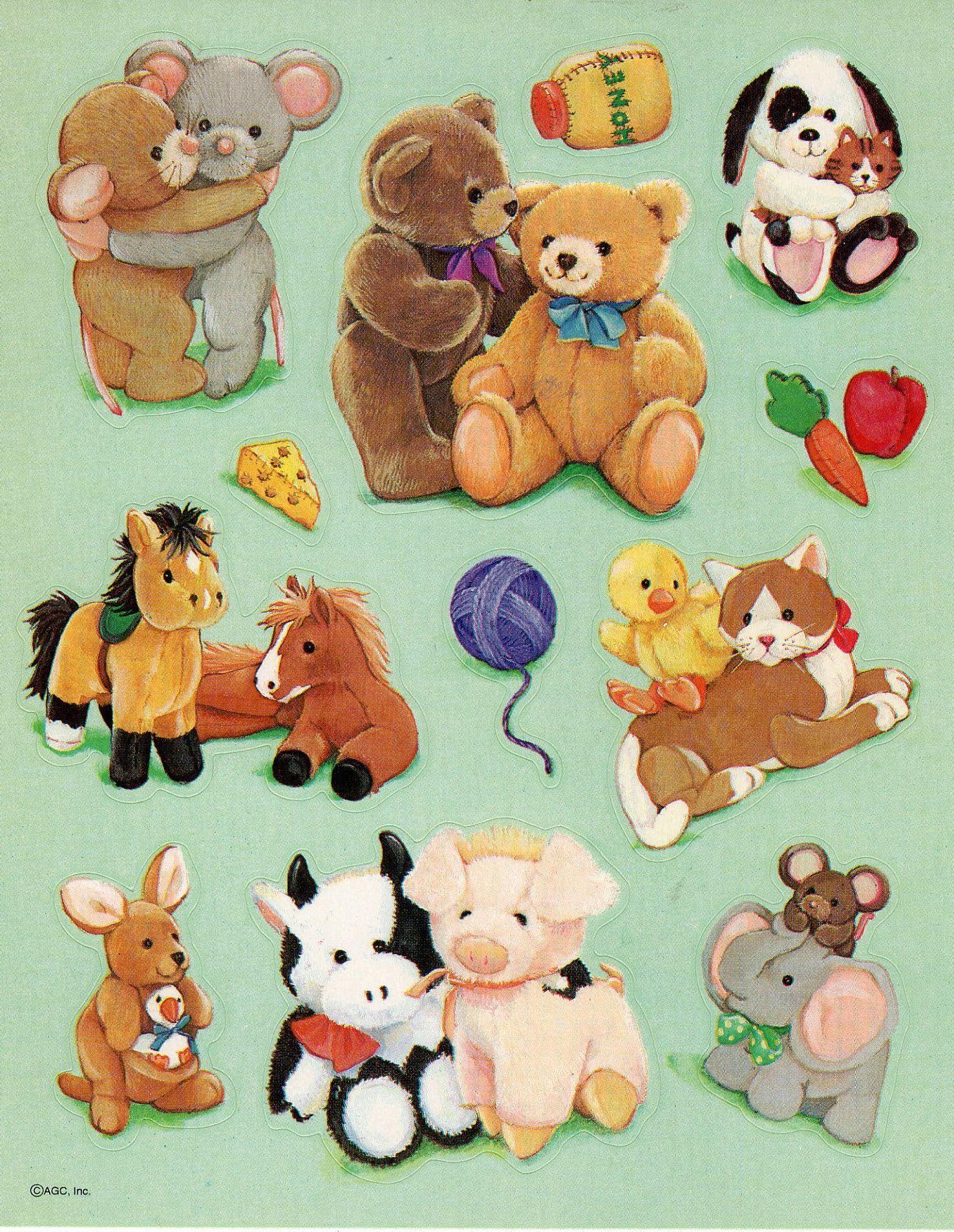 Vintage 1980 S 1990 S American Greetings Agc Stickers Etsy In 2021 Animal Stickers Sticker Collection American Greetings