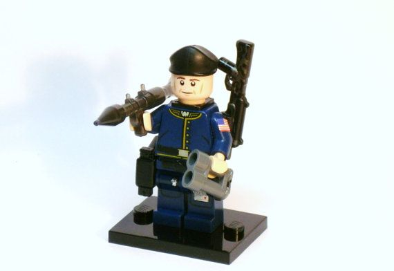 Lego Custom US VIETNAM SOLDIER Full Custom Printing with Brickarms M16 NEW