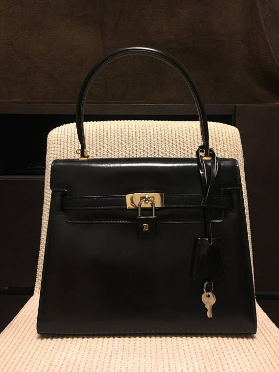 Authenthic Bally vintage kelly bag  444976650338d