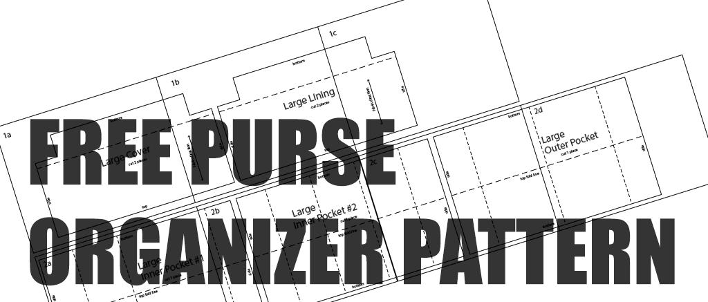 Resultado de imagen de Purse Organizer Sewing Pattern Free | bolsos ...