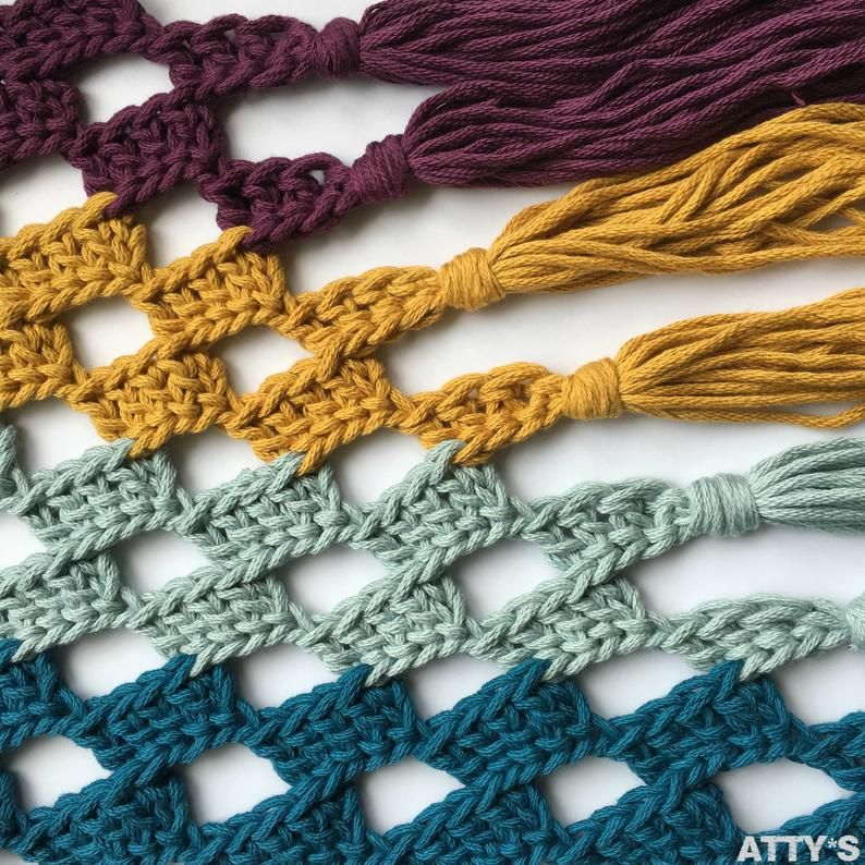 By Claire Chunky Cotton Catch the Waves Shawl patroonPDF #shawlcrochetpattern
