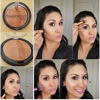 How to apply your bronzer chic blushes bronzers pinterest how to apply your bronzer ccuart Images