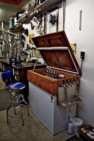 Arcon Congelador Amb Tiradors Fabricación De Cerveza Grifos De Cerveza Elaboracion De Cerveza Artesanal