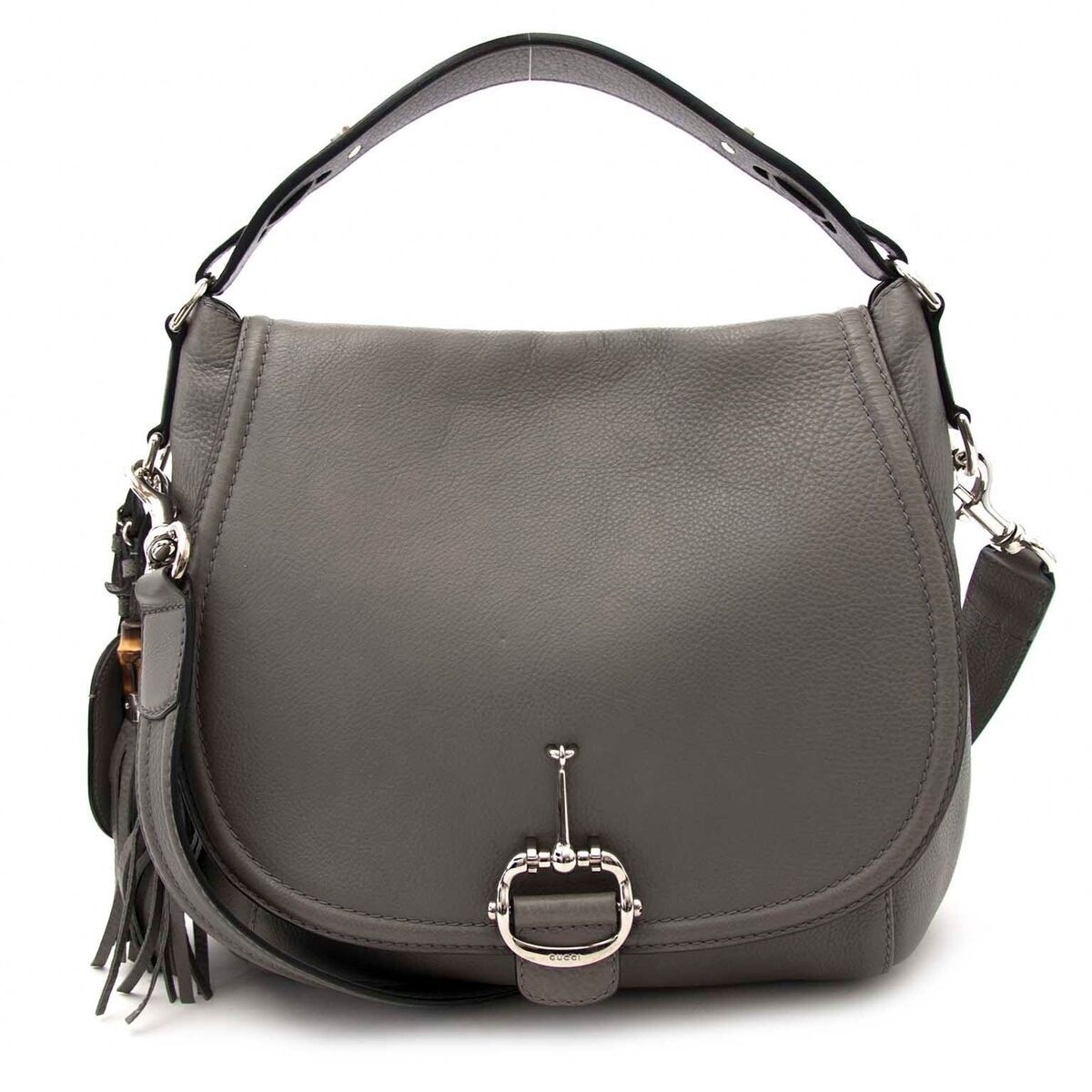 3a744529c072 Labellov gucci light grey shoulder bag buy and sell authentic luxury also  we lov rh pinterest
