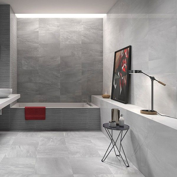 Light Grey Wall Tiles Bathroom Direct Tile Warehouse