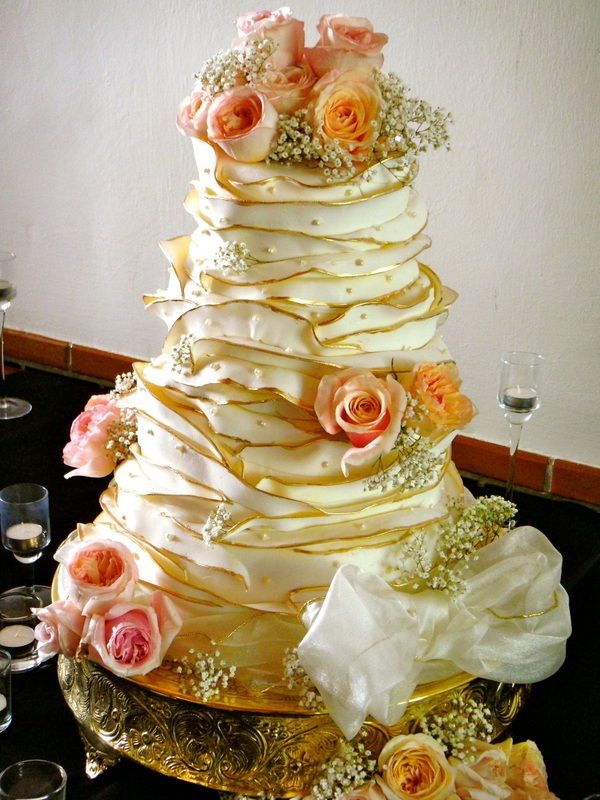 Specialty Cakes - Simply Sweet by Darci - with gold and lav instead ...