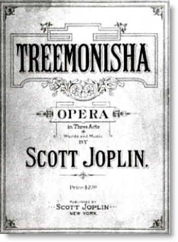 The Only Surviving Opera Of Scott Joplin Joplin Was Dying Of - Syphilis map us circa 1700s