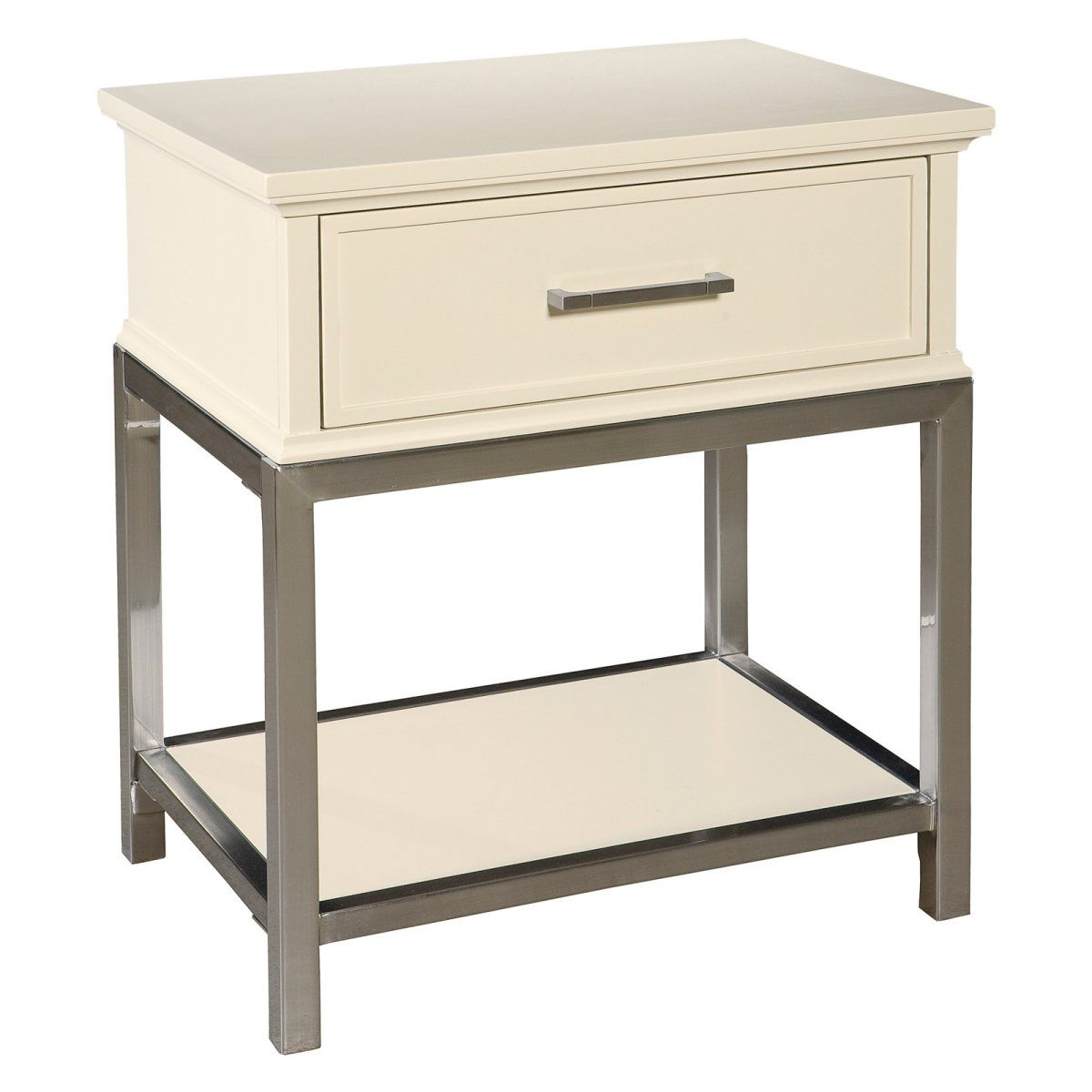 Studio Home Contemporary 1 Drawer Nightstand Nightstands At