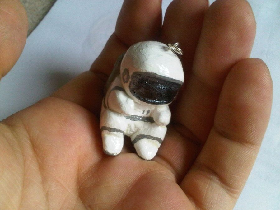 Astronaut Necklace by ~CandyApple10
