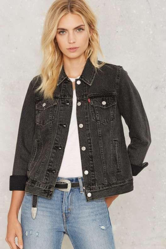 83d36aa79 Levi's Boyfriend Trucker Denim Jacket - Clothes | fashion in 2019 ...
