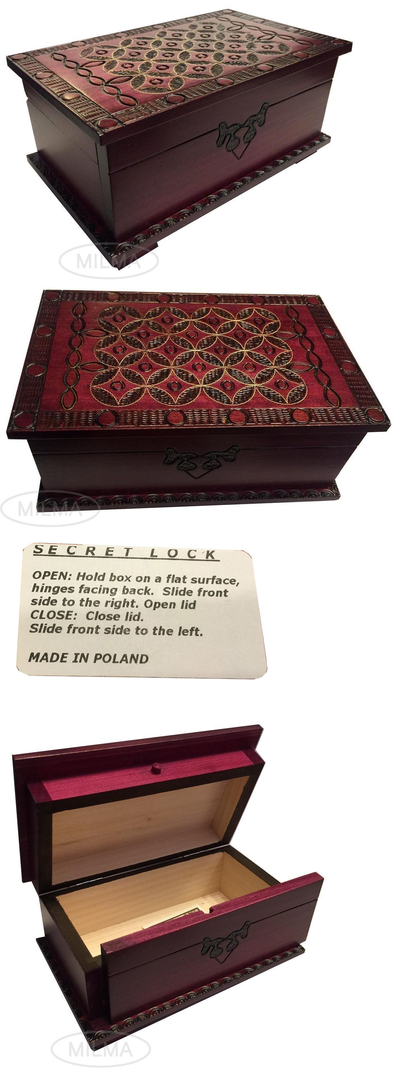Where To Buy Decorative Boxes Jewelry Boxes 3820 Celtic Puzzle Box Decorative Wooden Chest