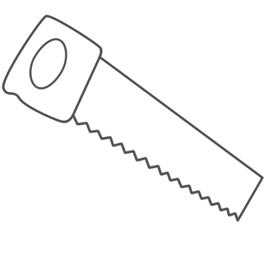 Printable Saw Cut Out