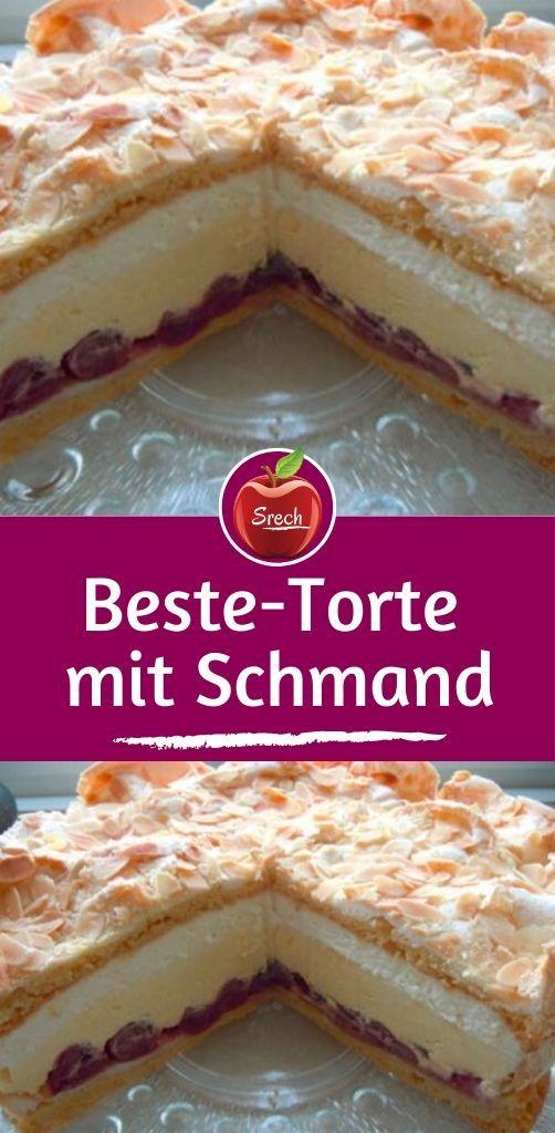 Beste-Torte mit Schmand #schnelletortenrezepte