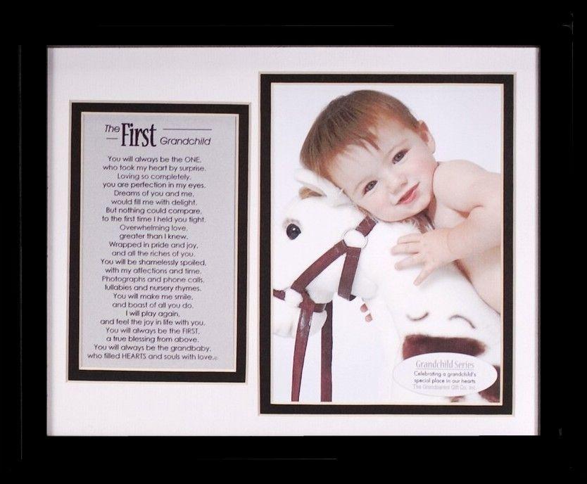 Grandparent Frame: First Grandchild Poem | Dear Santa......and other ...