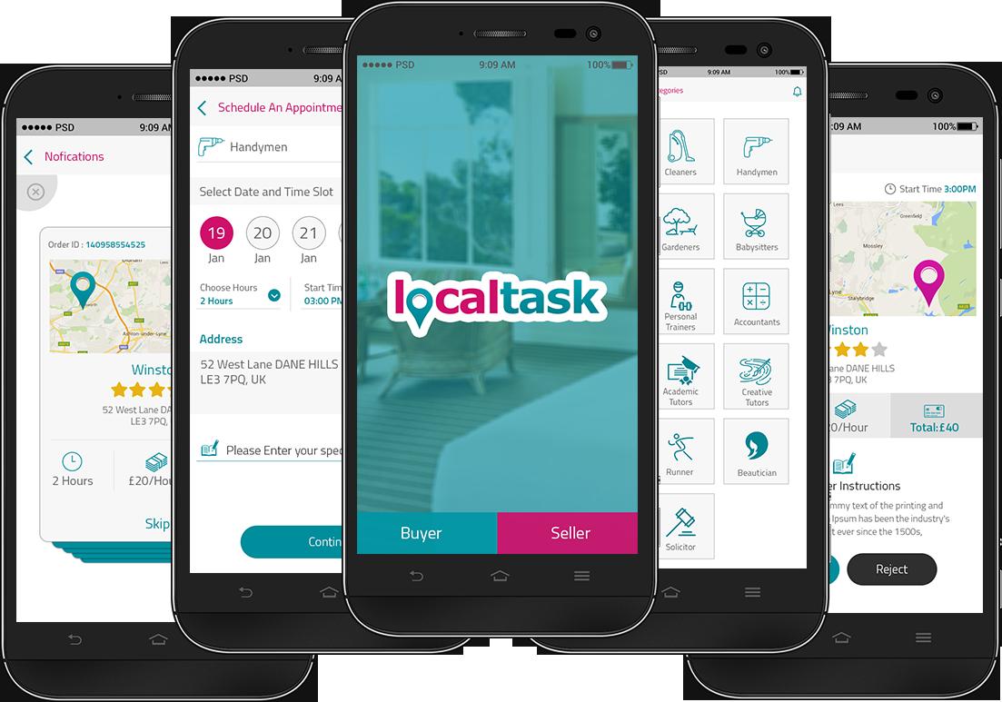 Local Task Task, Mobile application development