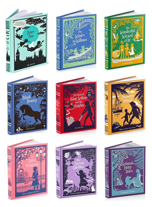 Barnes and Noble leatherbound Classics: children's books
