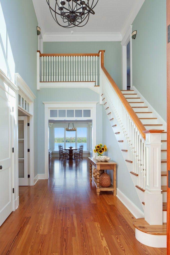 Jacob Talbot Fine Homebuilders Stairways Paint Colors