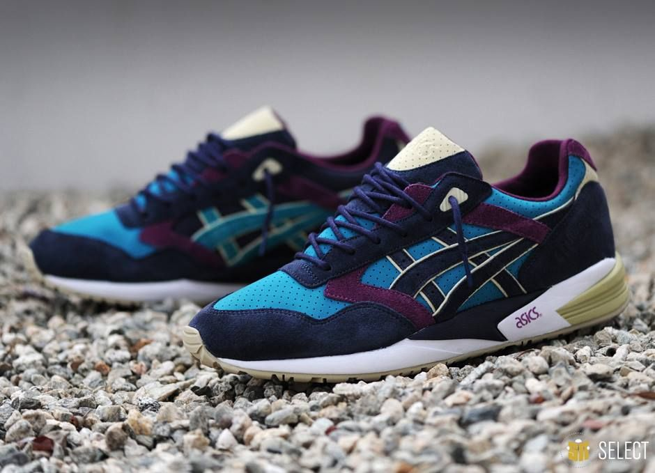 Asics Gel Saga X Bait Phantom Lagoon With Images Sneakers N