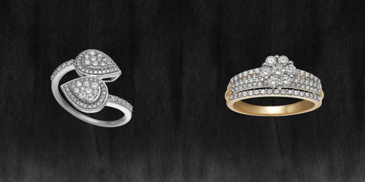 Tanishq Zuhur Jewellery - Finger Rings | Diamond Rings | Pinterest ...