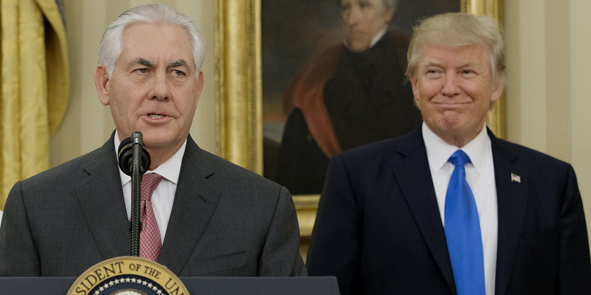Rex Tillerson On Being Secretary Of State: 'I Didn't Want This Job' | The Huffington Post