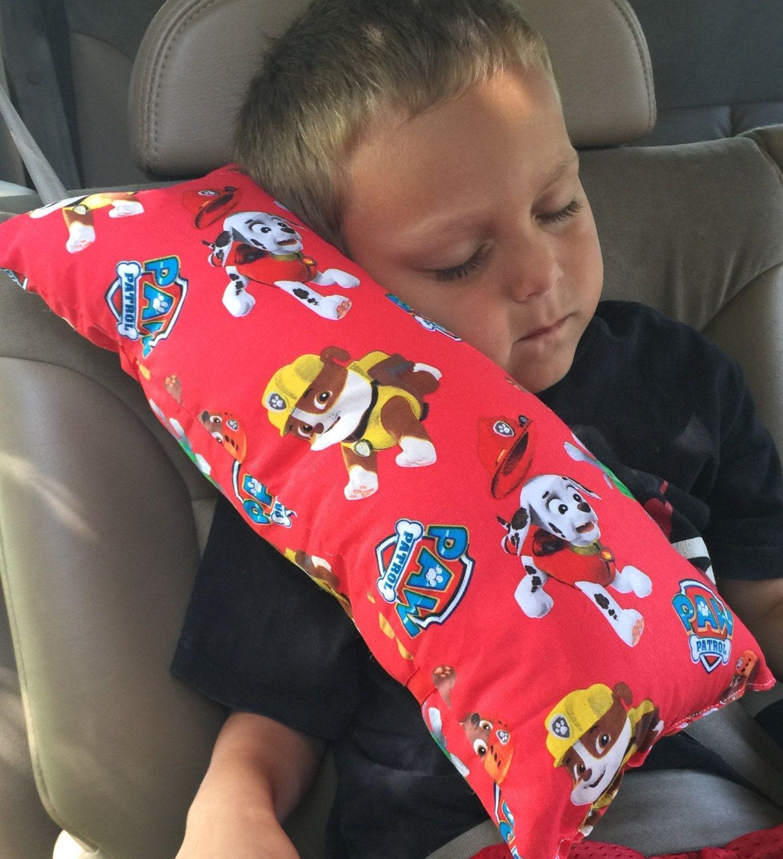 Seat Belt Pillow-Paw Patrol-Child\'s Travel Pillow | Sewing crochet ...