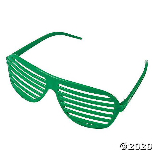 Shutter Glasses Oriental Trading Green Shutters Shutter Shades Green Sunglasses