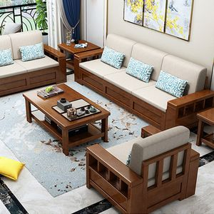 Source Cheap Sofa Furniture For Sale Chinese Modern Living Room Fabric Sofa Sets Wooden Sof Living Room Sets Furniture Furniture Design Wooden Wooden Sofa Set