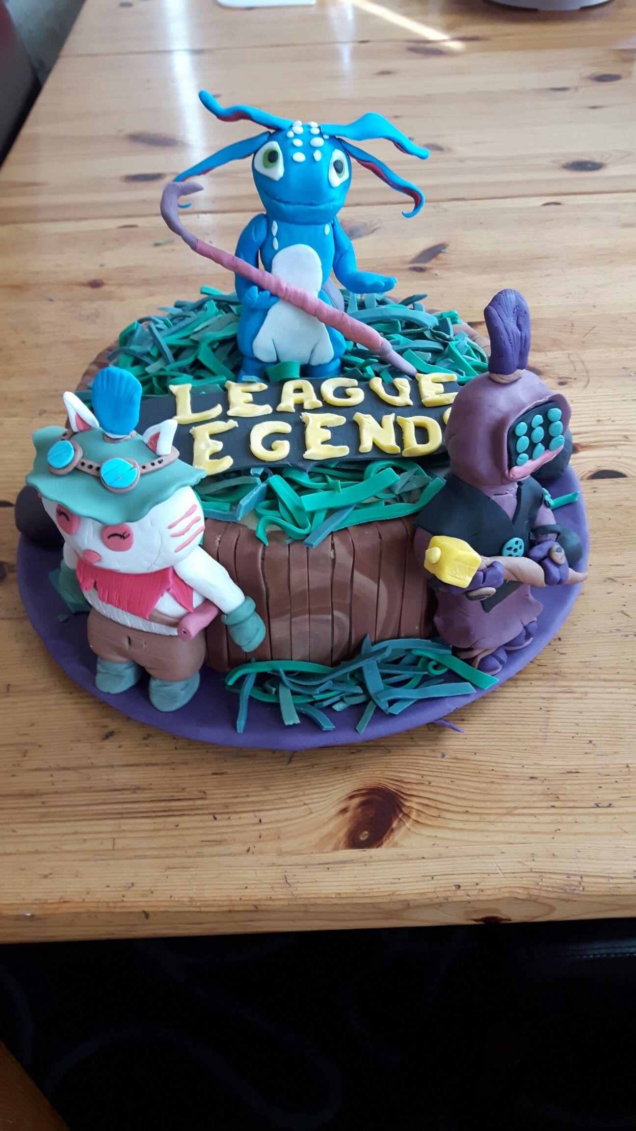 League of legends cake   Novelty cakes, Cake, League of ...