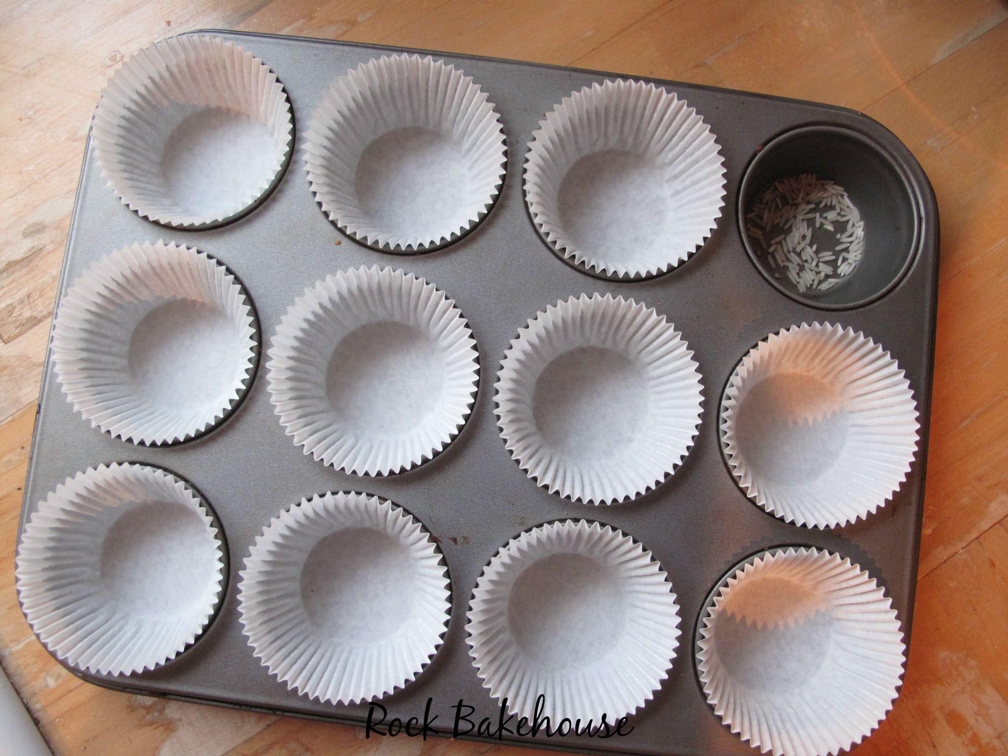 Preventing Greasy Cupcake Cases