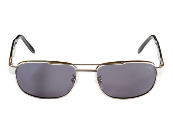 027b6bf99b1 Original Sting aviator sunglasses made in Italy in the 1980s. Metal  rectangular aviators with tortoise temples and brow bar on top.